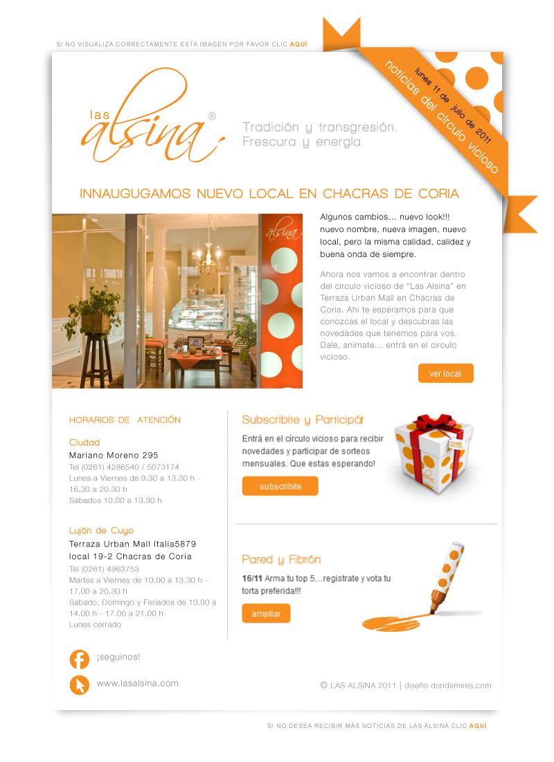 Newsletter Para Las Alsina Julio Irrazabal